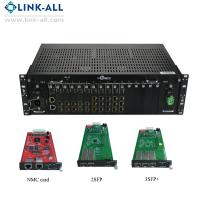 Wholesale UC6100-1U Hot-Swappable 10g 3r fiber optical Media Converter Transponder from china suppliers