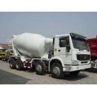 Wholesale 8x4 Sinotruk Concrete Mixer Trucks, EURO II, EURO III, 299hp to 380hp from china suppliers