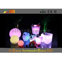 Wholesale Unbreakable LED Ice Bucket , RGB Lighting Bars LED Lighting Furniture from china suppliers