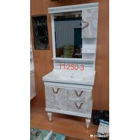 Wholesale Water Transfer Printing PVC  Bathroom Cabinet / Mirrored Bathroom Cabinet With Legs from china suppliers