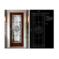 Wholesale Flat Edge Inlay Decorative Panel Glass Insulated / Bevelled / Polished from china suppliers