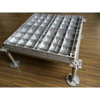 Wholesale Steel Structure Aluminum Floor Tiles Corrosion Proof High Mechanical Strength from china suppliers