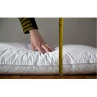 Quality Super Soft Microfiber Filling 1100g Cheap Bulk Hotel Pillow with Trade Assurance for sale