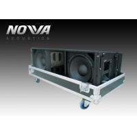 Wholesale Big Three Way Active Line Array System For Outdoors Events , High Efficiency from china suppliers