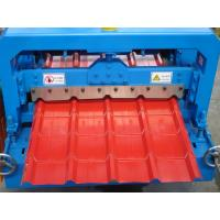 Wholesale 16 Rollers Wall Pane Cold Roll Forming Machine For Steel , 0.3-0.6mm Thickness from china suppliers