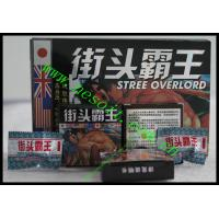 Wholesale Street Overlord Herbal Male Enhancement Capsules, Energy Male Sex Medicine from china suppliers