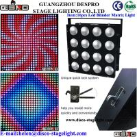 Wholesale Dance Hall Matrix LED Wash Lights Cool Stage Effects Pro Sound Stage Lighting from china suppliers