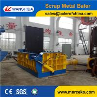 Wholesale China manufacturer Good quality Scrap Metal Baler for USA to press waste steel from china suppliers