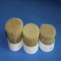 Wholesale double  Boiled pig Bristles 60%~90% for paint brush for artist brush from china suppliers