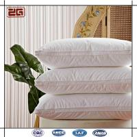 Wholesale Light Weight 5 Star Hotel Pillows , Soft Home Hotel Grade Pillows ZEBO-P0008 from china suppliers