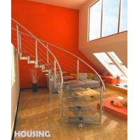Wholesale Curved Staircase (HS-C02) from china suppliers