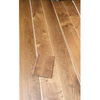 Quality oiled smoked oak engineered timber flooring for sale