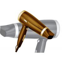 Quality Gorgeous Design Dual Voltage Professional Hair Dryer Folding Handle for sale