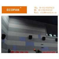 Wholesale Elegant Lightweight Fiberglass Fabric Wrapped Acoustical Panels For Walls Fireproof from china suppliers