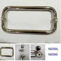 Wholesale SUS304 Polished Chrome shower handle / glass door handle N0594,N0595 from china suppliers