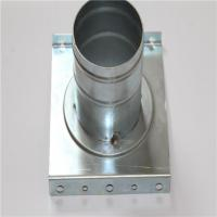 Wholesale Machining Center Galvanized Sheet Metal Fabrication Parts Zinc Coating Finished from china suppliers