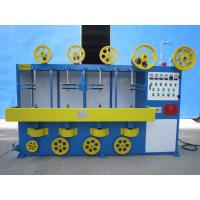 Quality Vertical 3 Layer Wrapping Cable Wrapping Machine With Adjusting Continuous Variable Speed Transmission for sale