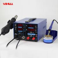Wholesale YIHUA 853D 2A 4 LED with 5V USB new type 3in1 Hot-Air Soldering Station from china suppliers