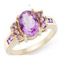 Wholesale Amethyst ring from china suppliers