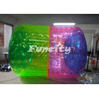 Wholesale 1.0mm PVC / TPU Inflatable Water Roller Colorful with Soft Handle for Water Park from china suppliers
