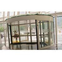 Wholesale 2 Wing Stainless steel  frame Automatic Revolving Door for Hotel / Bank / Airport from china suppliers
