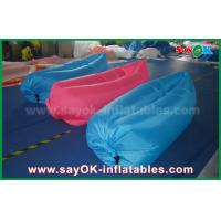 Wholesale Nylon Cloth Pop up Sofa Air Couch Beach Custom Inflatable Products 200cm *90cm from china suppliers