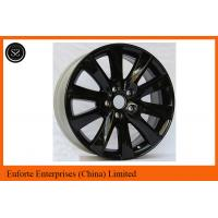 Quality 16 Inch Black Machined Volkswagen Custom Suv Wheel TUV SAE VIA Certification for sale