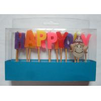 Wholesale Mix Colors Funny Happy Birthday Alphabet Toothpick Candles For Girls' Party from china suppliers