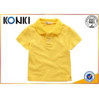Wholesale Cotton Uniform Custom Embroidered Polo Shirts Kids With Soft Material from china suppliers