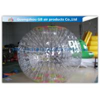 Wholesale Funny Transparent Inflatable Bumper Ball , Inflatable Grass Zorb Ball For Adults from china suppliers