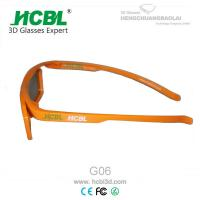 Wholesale Student Movie Theater Eyeglasses IMAX 3D Glasses With Free 1C Logo Printing from china suppliers