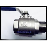 "Wholesale Female / Male End Stainless Steel Ball Valves 1/4"" - 4"" Investment Casting Body from china suppliers"