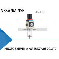 Wholesale GFR200 GFR400 One Units Filter Regulator Lubricator Sanmin air FRL unit from china suppliers