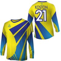 Wholesale Custom Football Goalie Shirts, Long Sleeves Sublimated Soccer Jersey With Team Logo from china suppliers