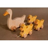 Wholesale Kids Educational Wooden Toys Cute Toddlers Duck 150 X 140 X 12 mm from china suppliers