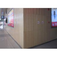 Wholesale Fire Resistance Wooden Perforated Acoustic Panel For Hospitals , Theaters from china suppliers