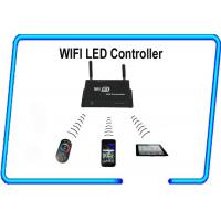 Wholesale 4A * 3CHs rgb RF Wifi LED controller by mobile phone with Android / IOS system from china suppliers