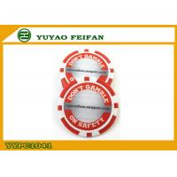 Wholesale Red / White Custom Poker Chips Customize Your Own Poker Chips from china suppliers