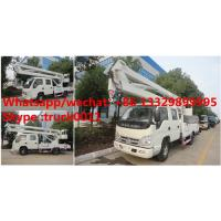 Wholesale factory sale best price forland 4*2 RHD 11m aerial bucket truck, hot sale forland 11m overhead working platform truck from china suppliers