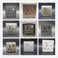 Quality One Gang 13 a Wall Switch Socket Limit Button Household/General Purpose for sale