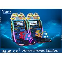 Wholesale HD Display Boat Racing Games / Arcade Racing Simulator Leather Vibration Seats from china suppliers
