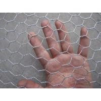 Quality Hot Dipped Galvanized Hexagonal Wire Netting , Silver Ornamental Wire Fence for sale