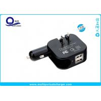 Wholesale 5V 2.1A High Output USB Car Wall Charger With US / EU / UK / AU Plug Socket from china suppliers