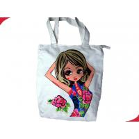 Wholesale Personalized Cotton Canvas Reusable Shopping Bags with Environmentally Friendly from china suppliers