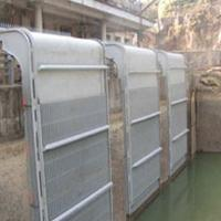 Wholesale Tilting trash rack for river and lake water cleaness from china suppliers