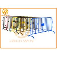 Wholesale Stainless Steel Bridge Feet Crowd Control Barriers Hot Dipped Galvanized from china suppliers