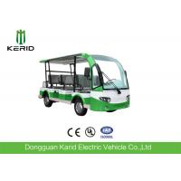 Buy cheap 8 Passengers Mini Electric Sightseeing Car With Rear Small Package Box from wholesalers