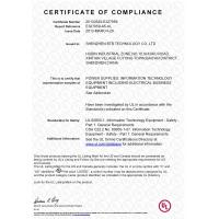 Shenzhen BTB Technology Co.,Ltd Certifications