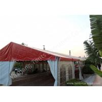 Wholesale Uv Resistant 8 By 21 Backyard Big Outdoor Party Tent White Mixed Red Color from china suppliers