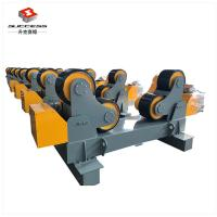 Wholesale 60T Self Adjustment Pipe Welding Rollers With Moving Wheels , 60T Tanks Turning Rolls from china suppliers